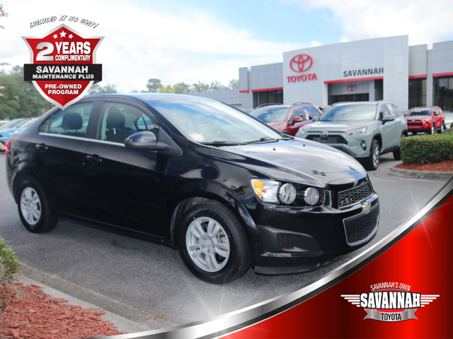 Pre-Owned 2016 Chevrolet Sonic LT Auto