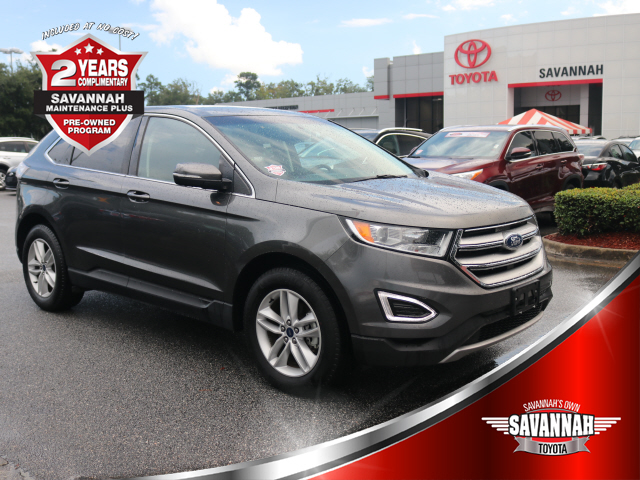 Pre Owned 2017 Ford Edge Sel Sel 4dr Crossover In Savannah 10990e