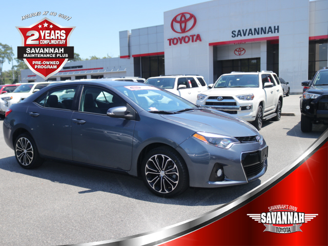 Certified Pre-Owned 2014 Toyota Corolla S Plus