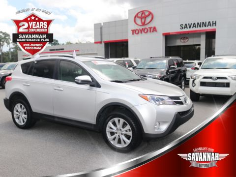 Certified Pre-Owned 2015 Toyota RAV4 LTD